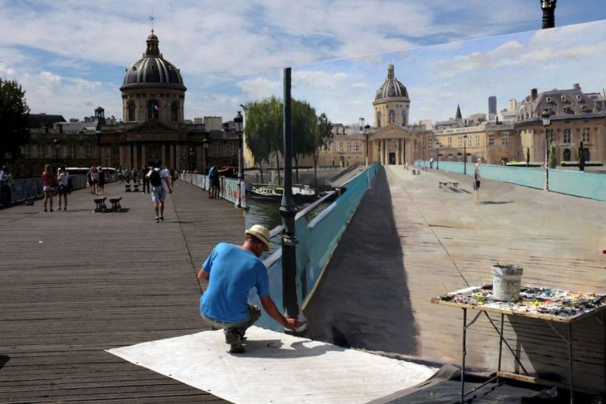 Arte callejero en Francia. Foto:AFP. Imagen Por: