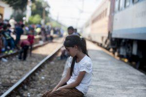 Migrantes en Serbia que tratan de llegar a la Unión Europea a través de Hungría. Foto:AFP. Imagen Por: