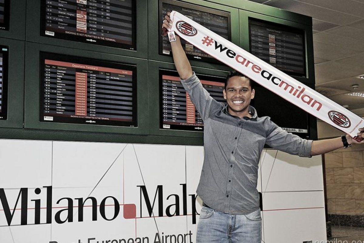 3. Carlos Bacca Foto:acmilan.com. Imagen Por: