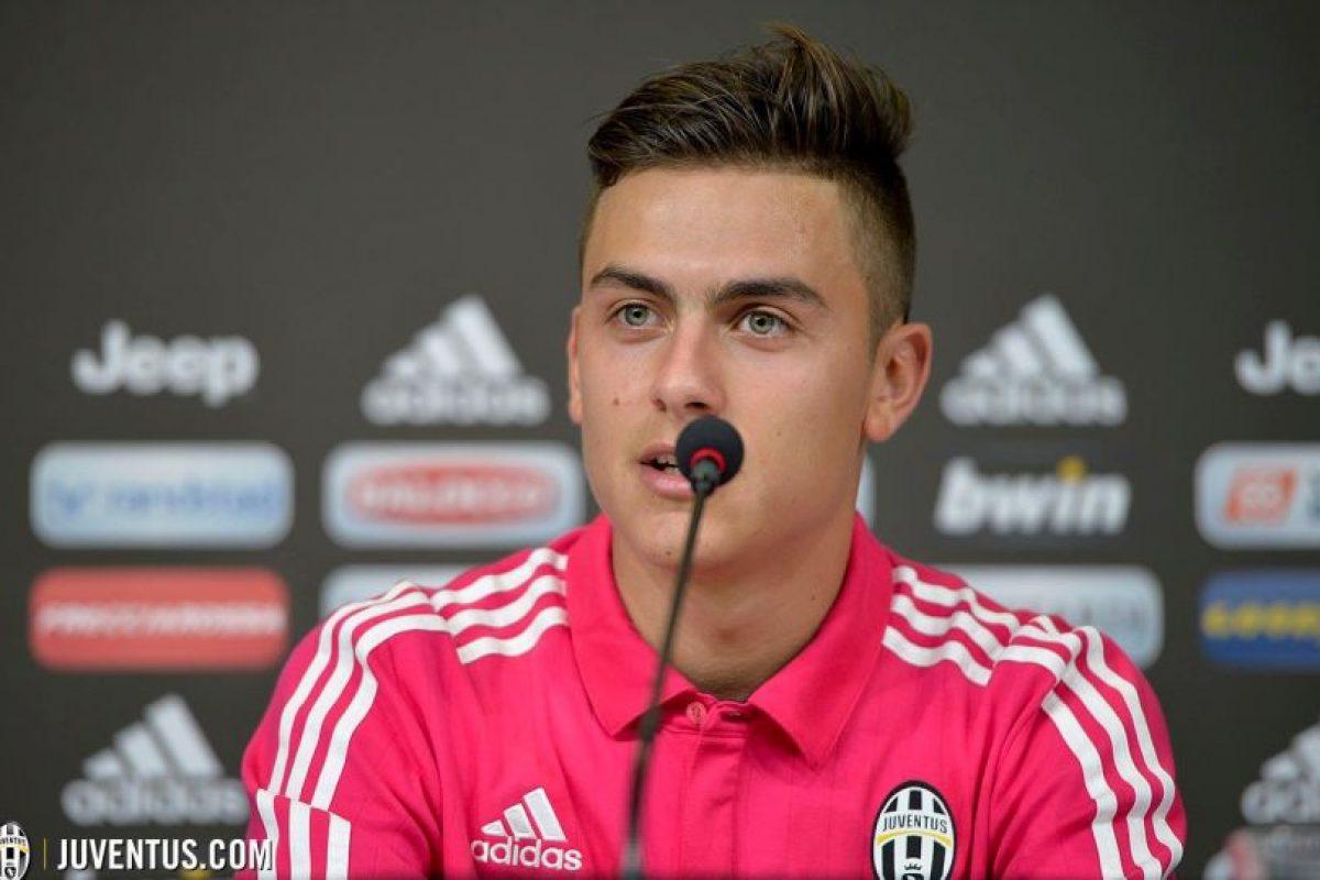 """La """"joya"""" argentina tiene 21 años y le costó 32 millones de euros a la Juventus. Foto:juventusfc.com. Imagen Por:"""