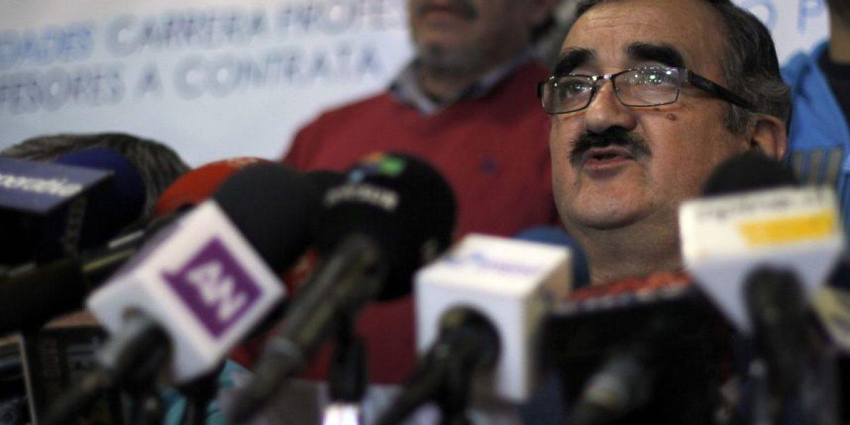 Gajardo: asamblea representa a todo el gremio docente