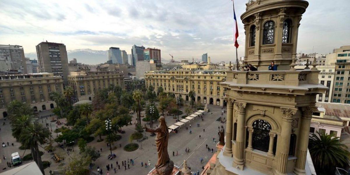 Presentan obras de reparación de la Catedral de Santiago