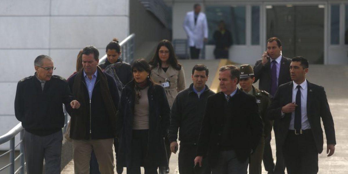 Ministra Blanco anuncia aumento de penas por maltrato de obra a carabineros