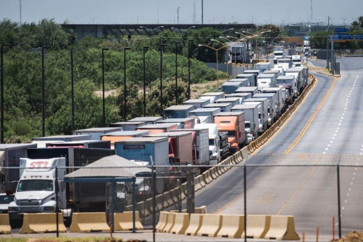 1. Donald Trump cerró la frontera, al menos por 50 minutos Foto:Getty Images. Imagen Por:
