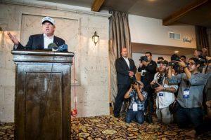5. Y silenció a un reportero latino Foto: Getty Images. Imagen Por:
