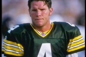 6. Brett Favre (Fútbol americano) Foto:Getty Images. Imagen Por: