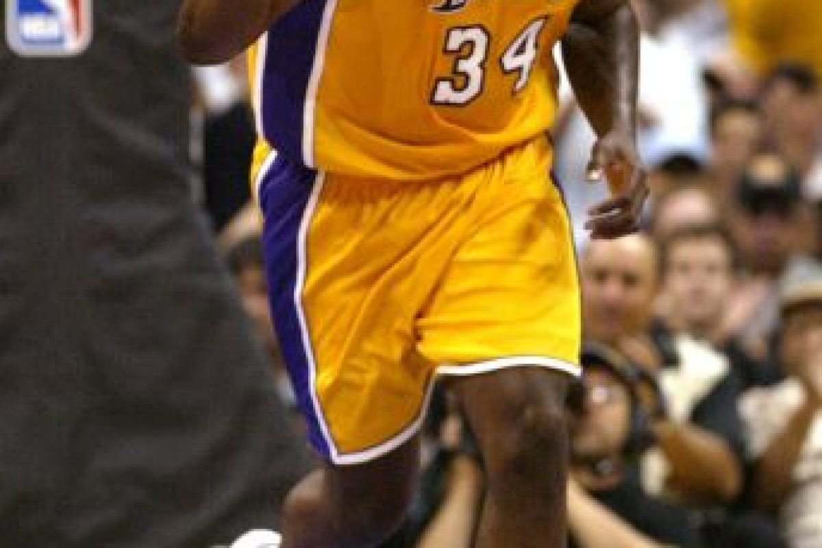 8. Shaquille O'Neal (Baloncesto) Foto:Getty Images. Imagen Por: