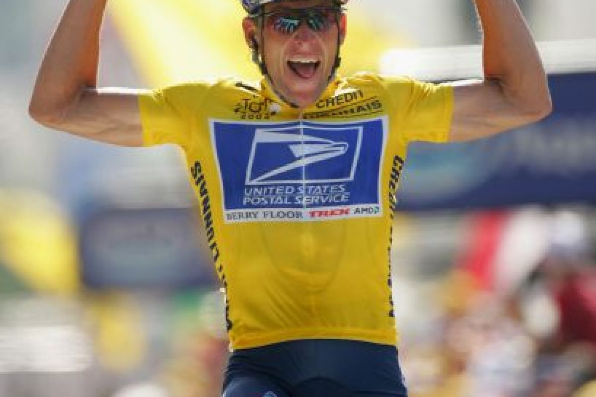 2. Lance Armstrong (Ciclismo) Foto: Getty Images. Imagen Por: