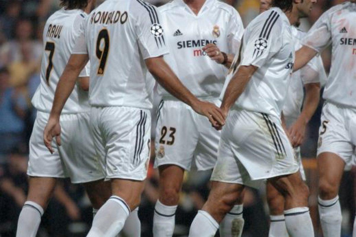 """7. Los """"Galácticos"""" del Real Madrid (Fútbol) Foto:Getty Images. Imagen Por:"""