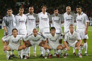 Así se le llamó al Real Madrid que vivió en la primera etapa de Florentino Pérez como presidente del club del 2000 al 2006. Foto:Getty Images. Imagen Por: