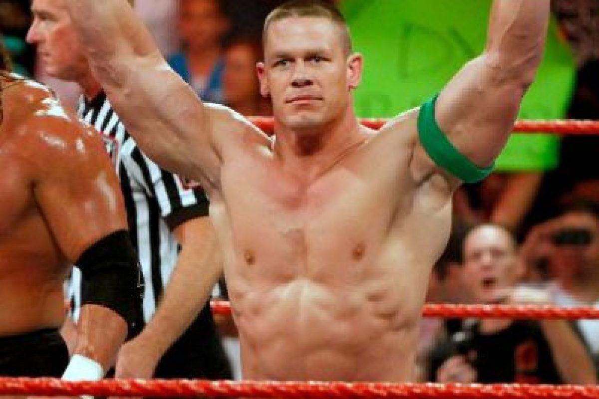 9. John Cena (Lucha libre) Foto:Getty Images. Imagen Por: