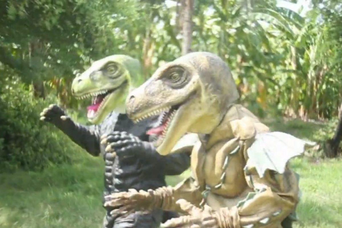 Y de los velociraptors. Foto:vía ghtai porn. Imagen Por:
