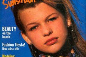 """Milla Jovovich para """"Seventeen"""". Foto:vía Seventeen. Imagen Por:"""