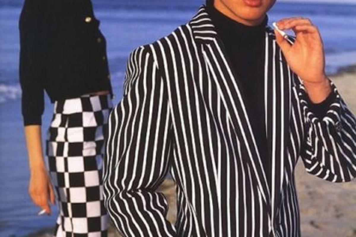 Ian Somerhalder para Versace. Foto:vía Versace. Imagen Por: