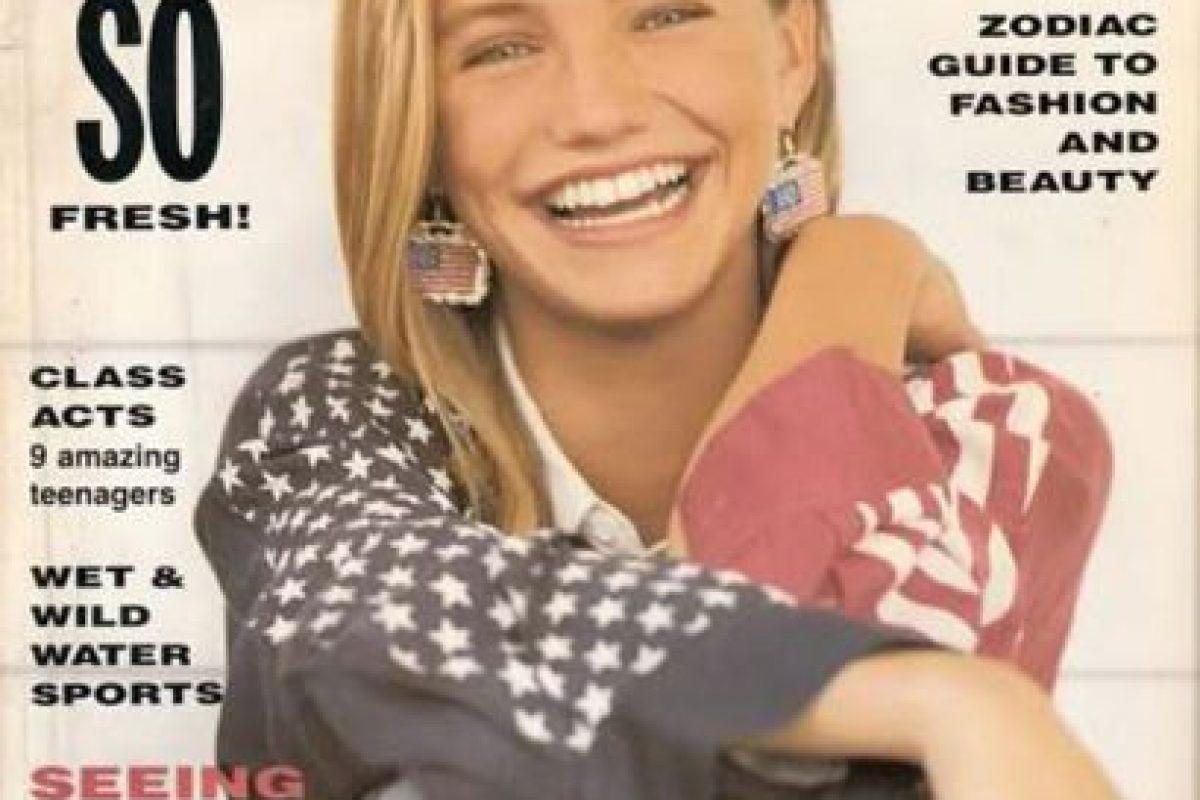 """Cameron Diaz en la famosa """"Seventeen"""" Foto:vía Seventeen. Imagen Por:"""
