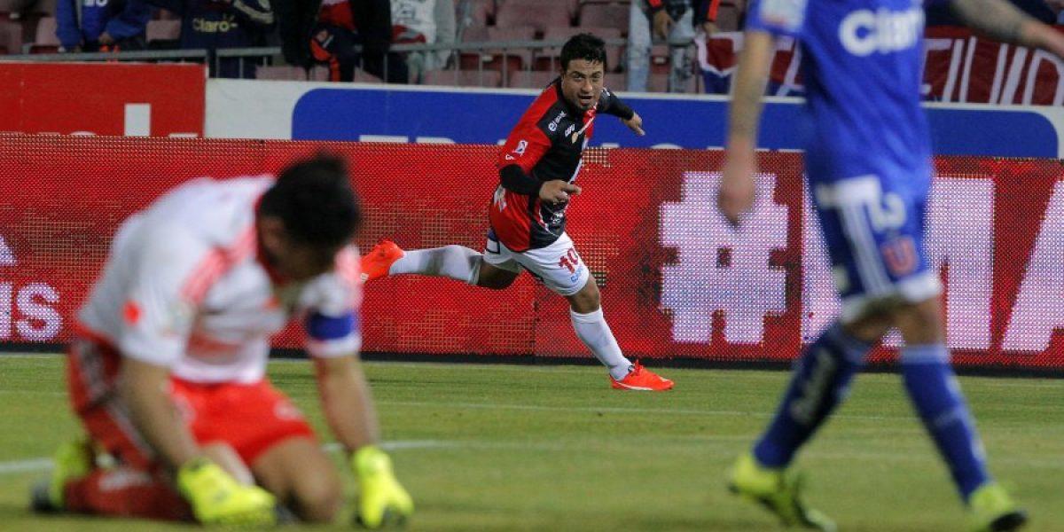La U sufrió más de la cuenta para rescatar un empate ante Antofagasta