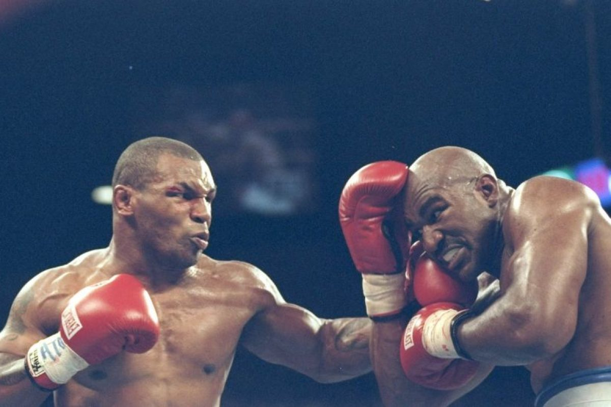 Mike Tyson vs. Evan Holyfield Foto: Getty Images. Imagen Por: