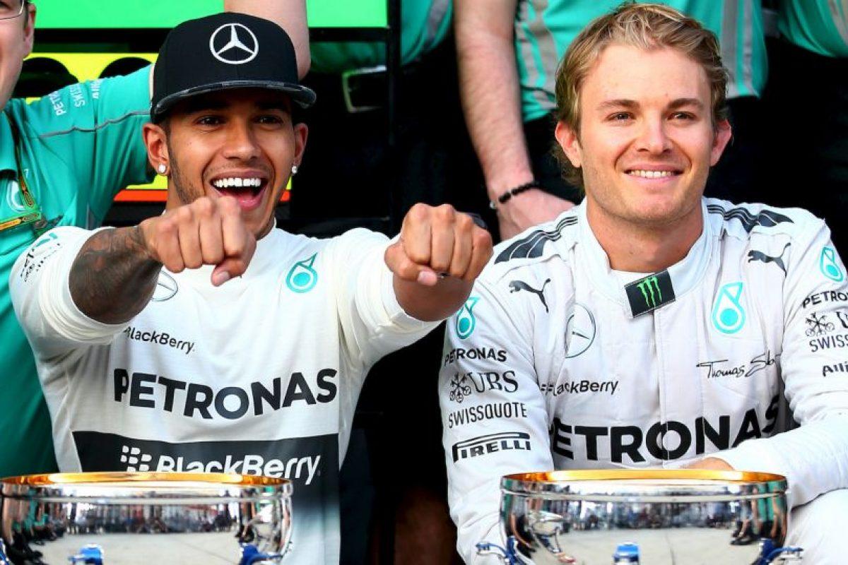Lewis Hamilton vs. Nico Rosberg Foto:Getty Images. Imagen Por:
