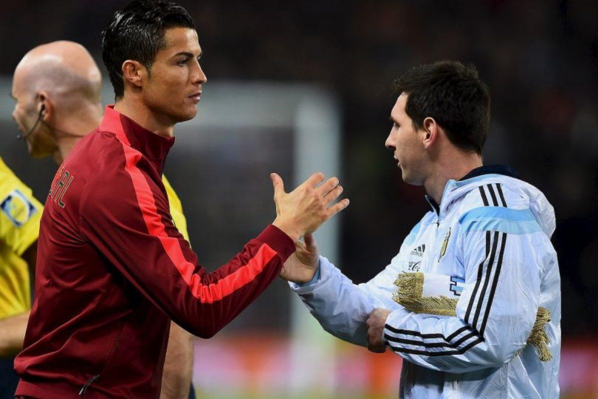 Cristiano Ronaldo vs. Lionel Messi Foto:Getty Images. Imagen Por: