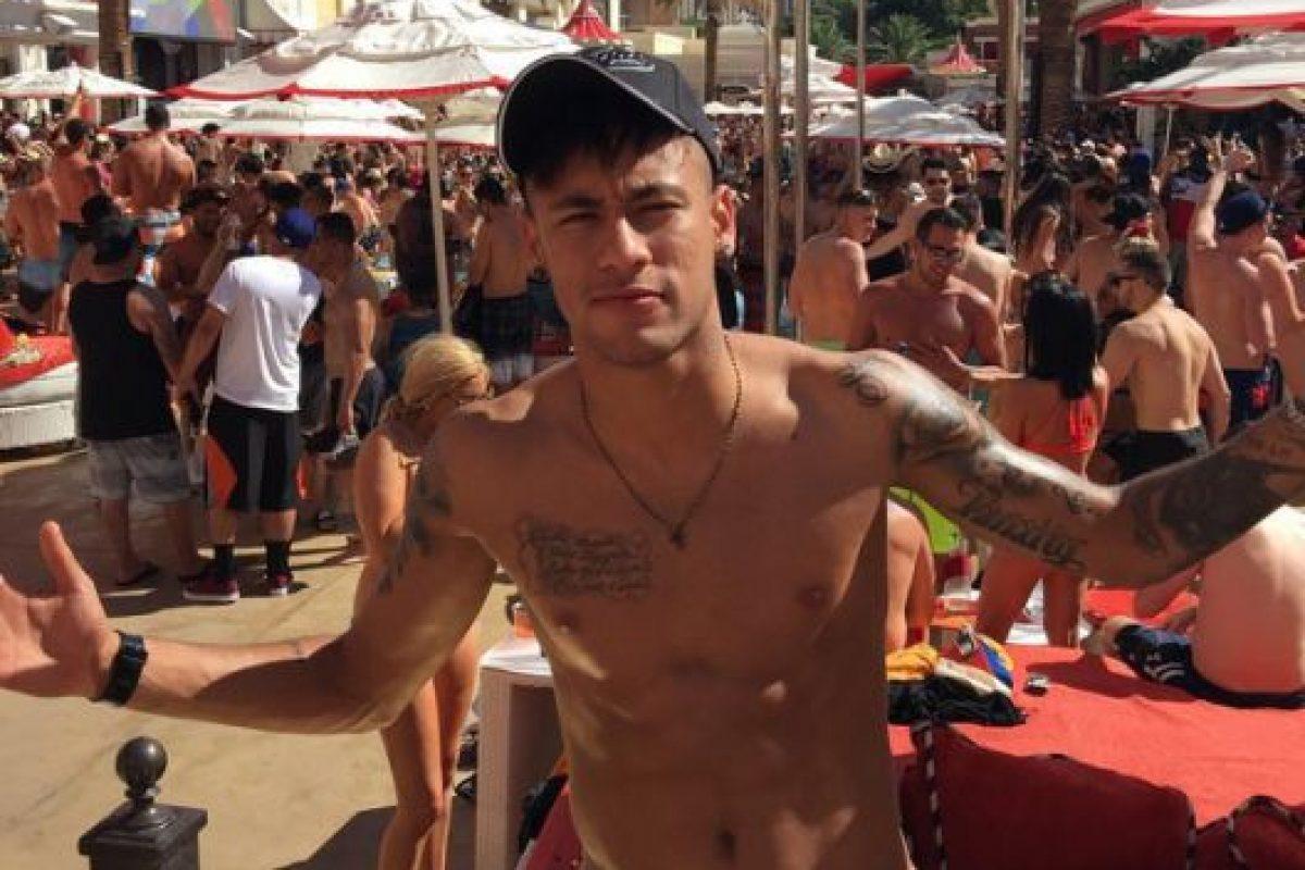 Pero también estuvo en Estados Unidos. Foto:Vía instagram.com/neymarjr. Imagen Por: