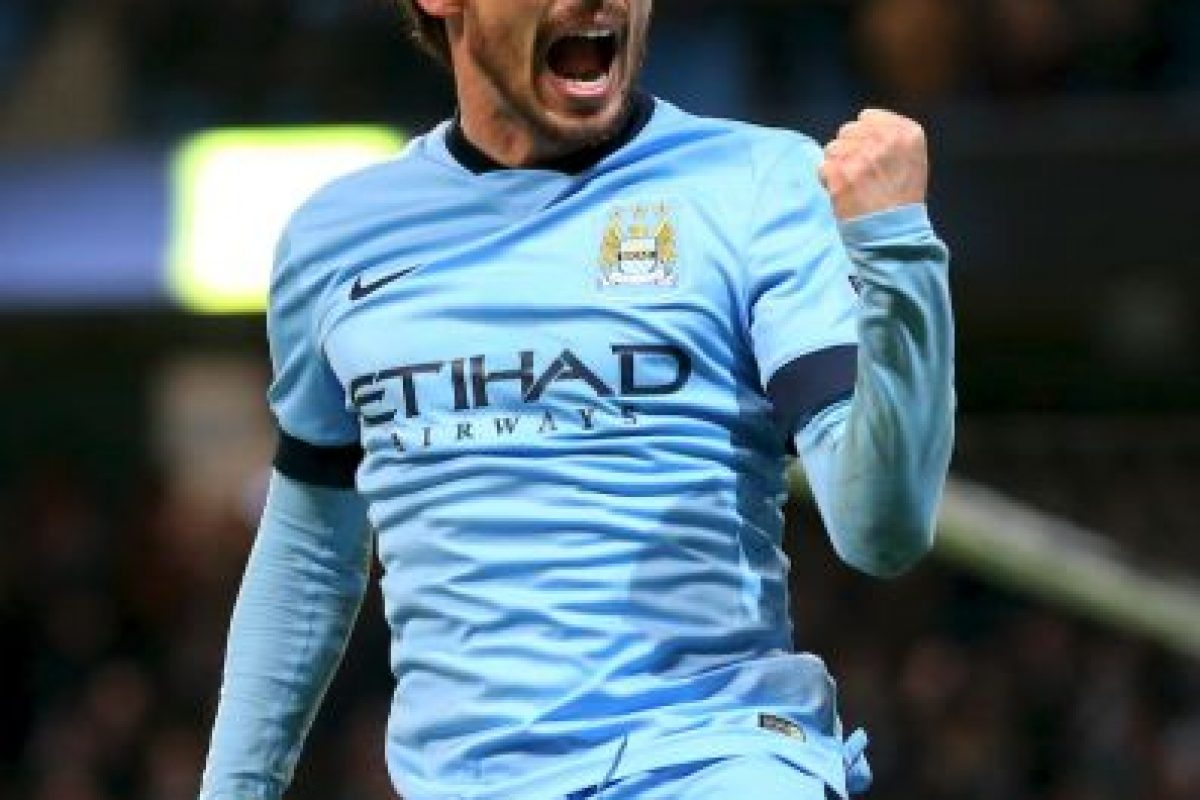 12. David Silva Foto: Getty Images. Imagen Por: