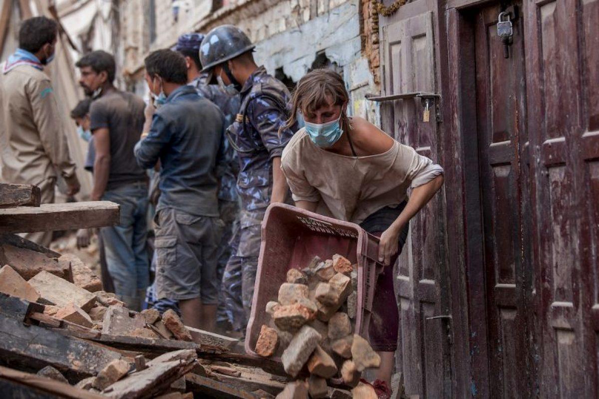 El pasado 25 de abril un terremoto de magnitud 7.8 sacudió a Nepal. Foto:Getty Images. Imagen Por:
