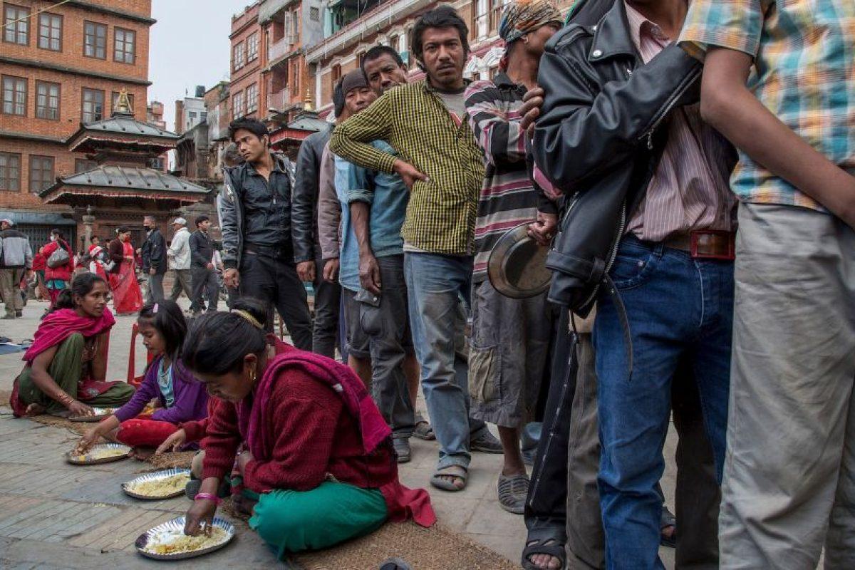India, China y Banglaseh sintieron el terremoto de magnitud 7.8, aunque en menor grado que los nepaleses. Foto:Getty Images. Imagen Por: