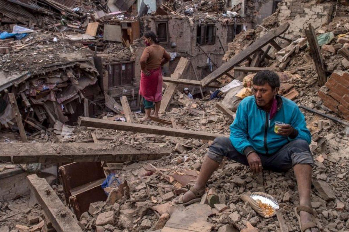 Es el sismo más devastador desde el que tuvieron en 1934. Foto:Getty Images. Imagen Por: