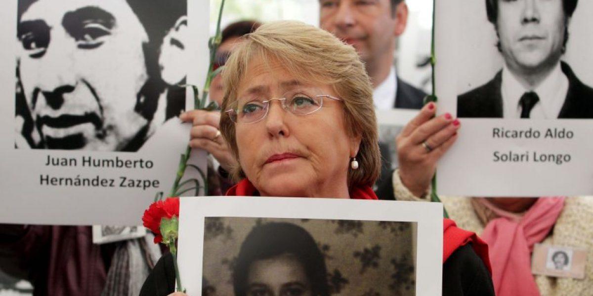 Bachelet por crímenes de Derechos Humanos: