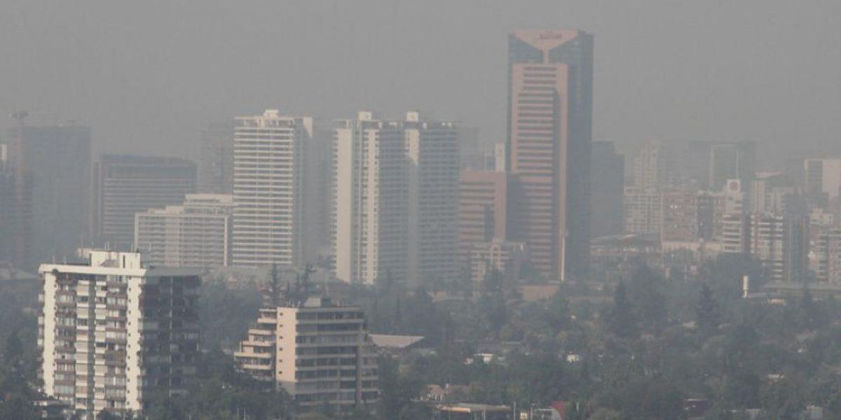 Smog: decretan alerta ambiental en Santiago