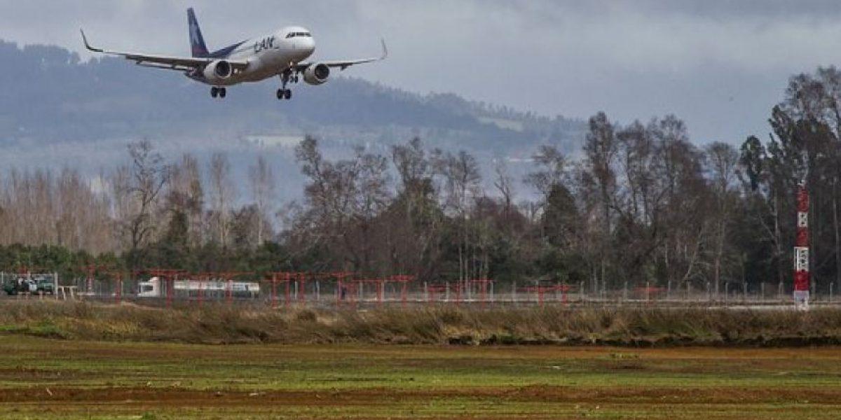 ¿Por qué cancelan frecuentamente los vuelos en el aeropuerto de Concepción?