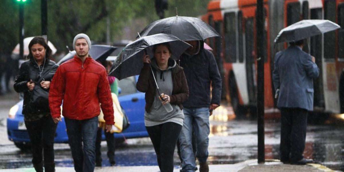¡A sacar los paraguas! El pronóstico del tiempo para este martes en Santiago