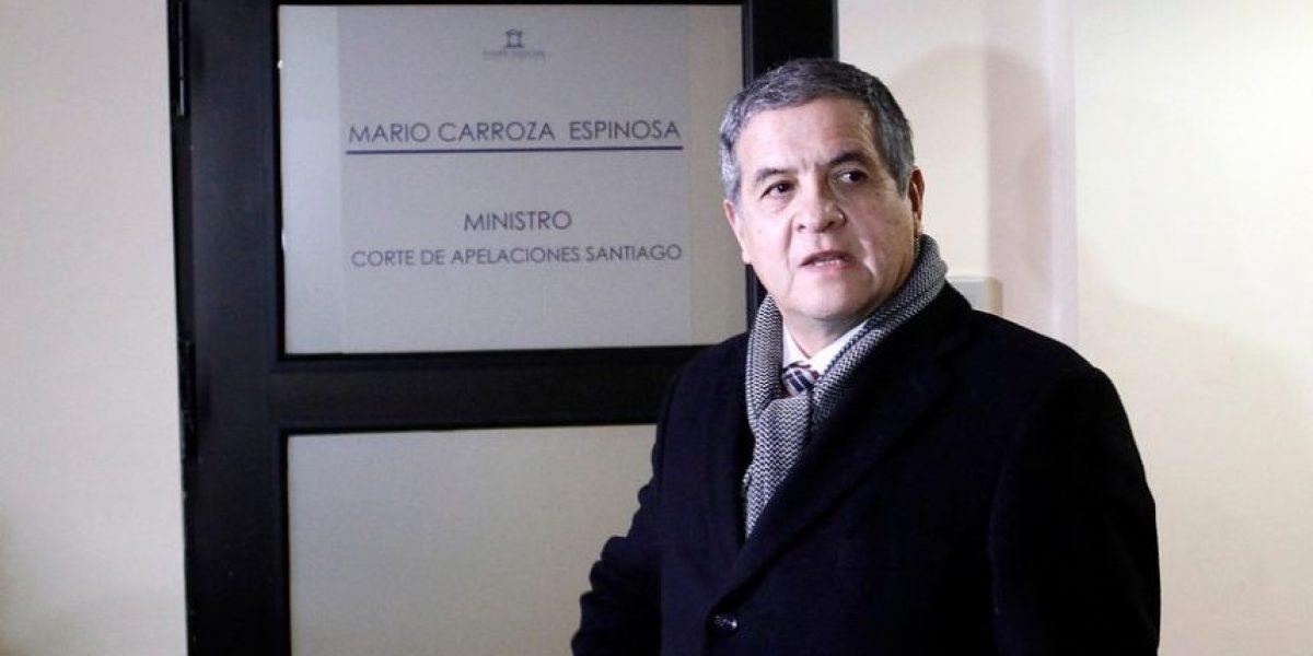 """Caso """"Quemados"""": juez Carroza interrogará a nuevos detenidos"""