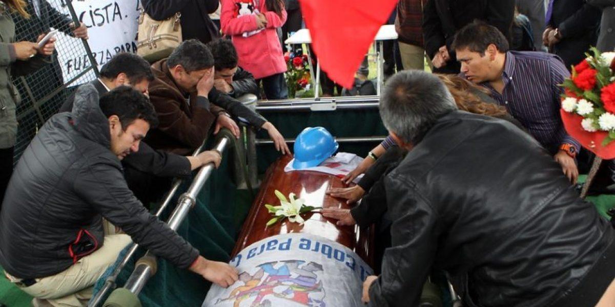 Así fue el emotivo funeral del trabajador muerto en el Norte