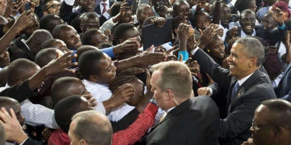 GALERÍA: La gira de Obama por África