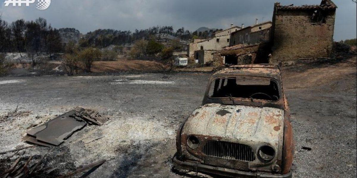 Un incendio arrasa 1.200 hectáreas en Cataluña
