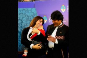 2. Conozca a la diputada argentina que amamanta a su hija en el Congreso Foto:Facebook.com/pages/Victoria-Donda-Pérez. Imagen Por: