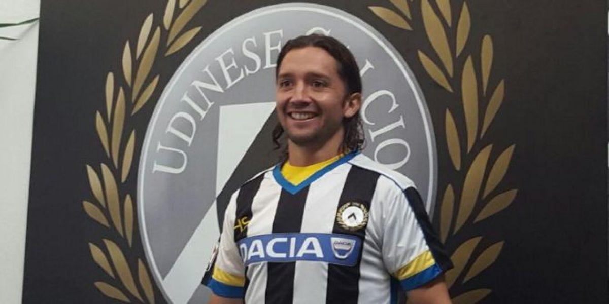 Colocho Iturra en Udinese: