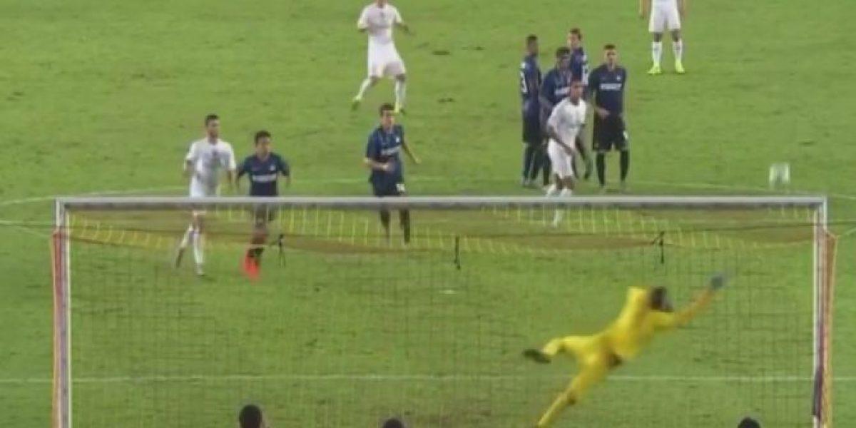 Se pone en forma: el tremendo golazo de James a Inter de Milán