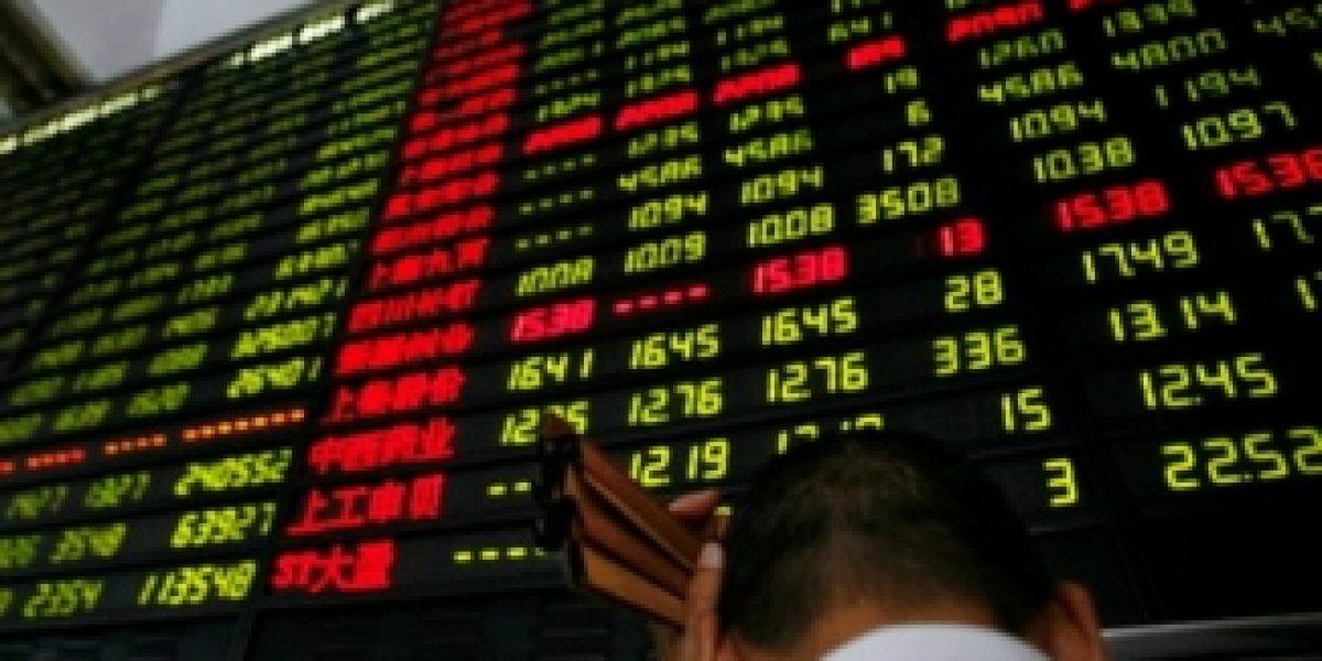 Bolsa de Shanghai se desploma