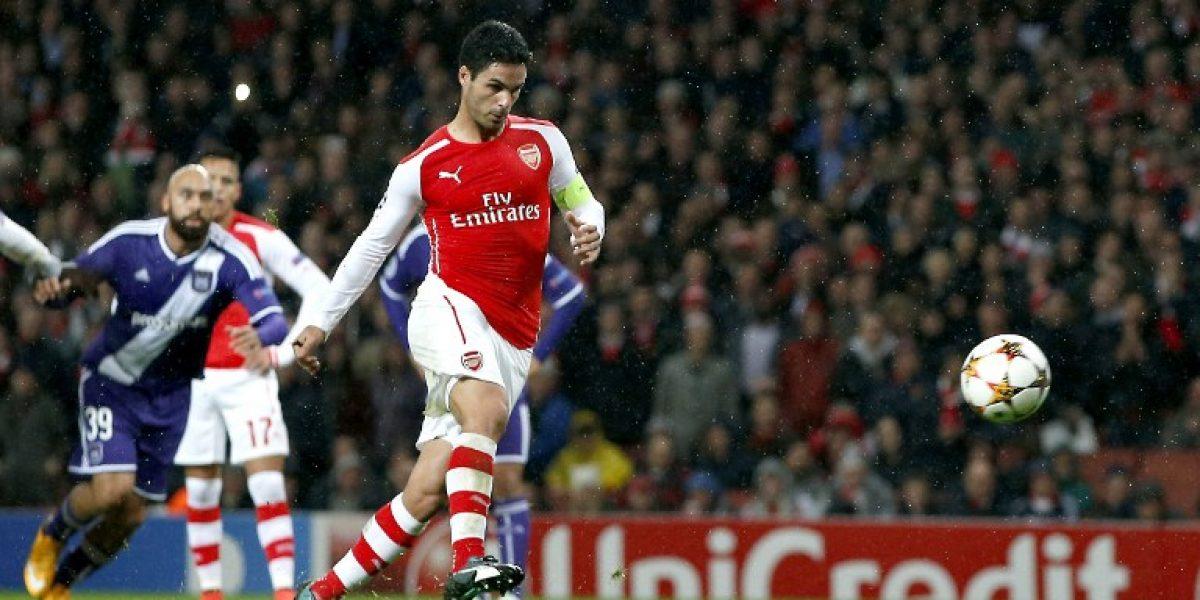 Capitán del Arsenal de Alexis: