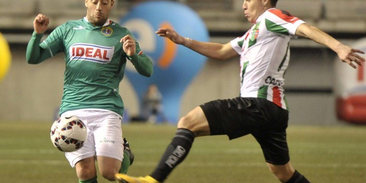 Palestino reaccionó y le sacó un empate a Audax en La Florida