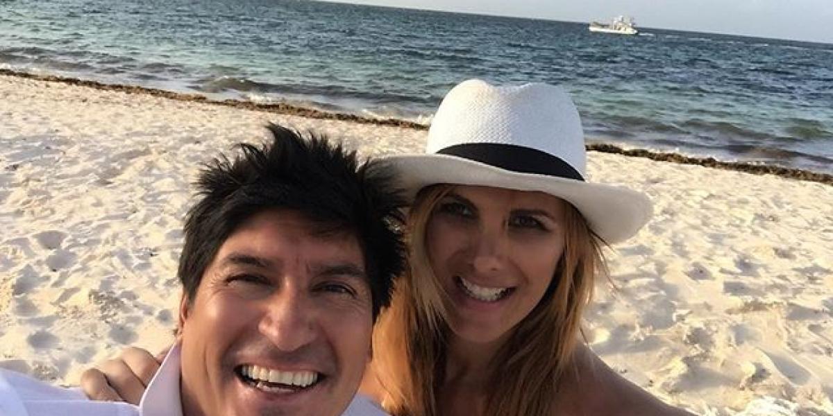 Así son las románticas vacaciones en familia de María Alberó y Zamorano
