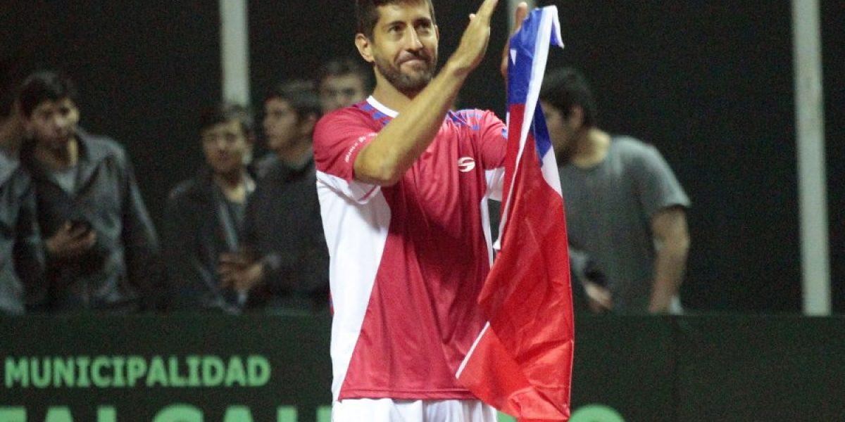Leve bajón de tenistas chilenos en ranking ATP