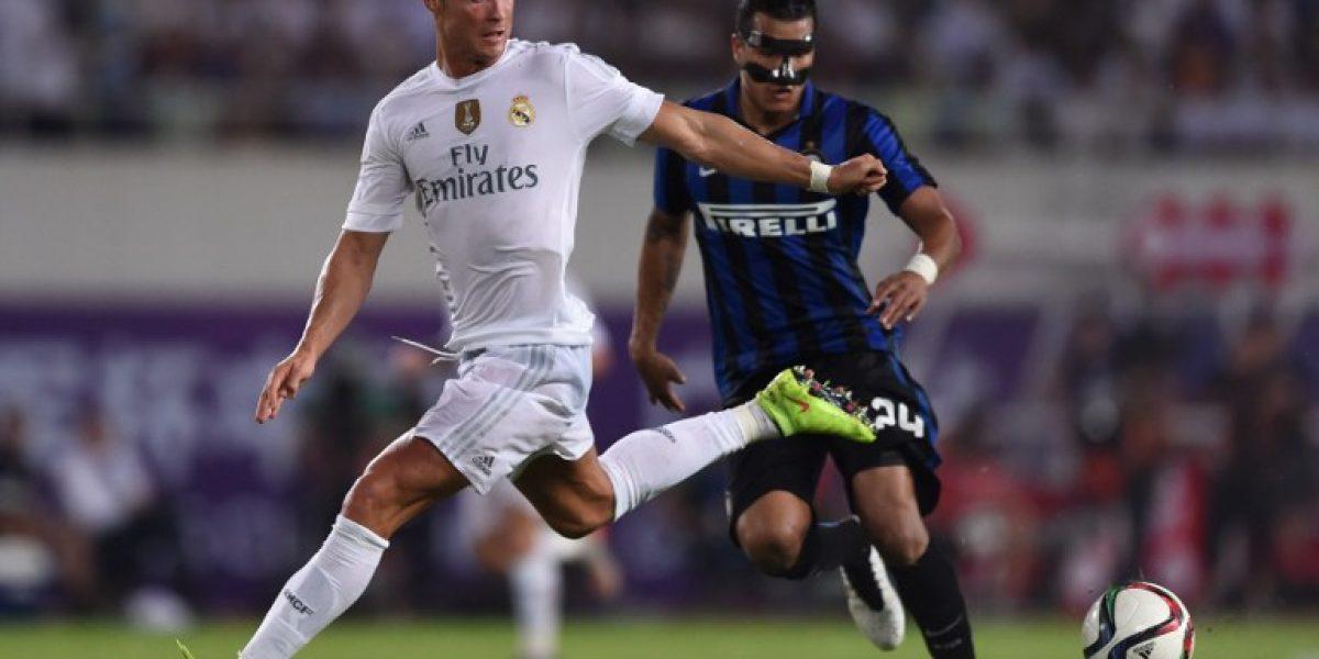 Real Madrid no tuvo problemas en vencer a Inter de Milán
