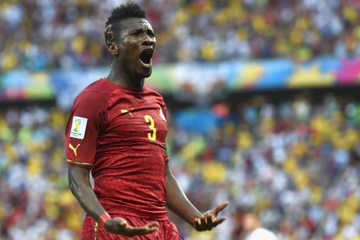 9. Asamoah Gyan Foto:Getty Images. Imagen Por: