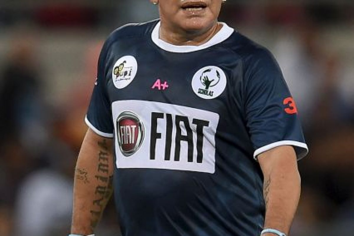 5. Diego Maradona Foto:Getty Images. Imagen Por: