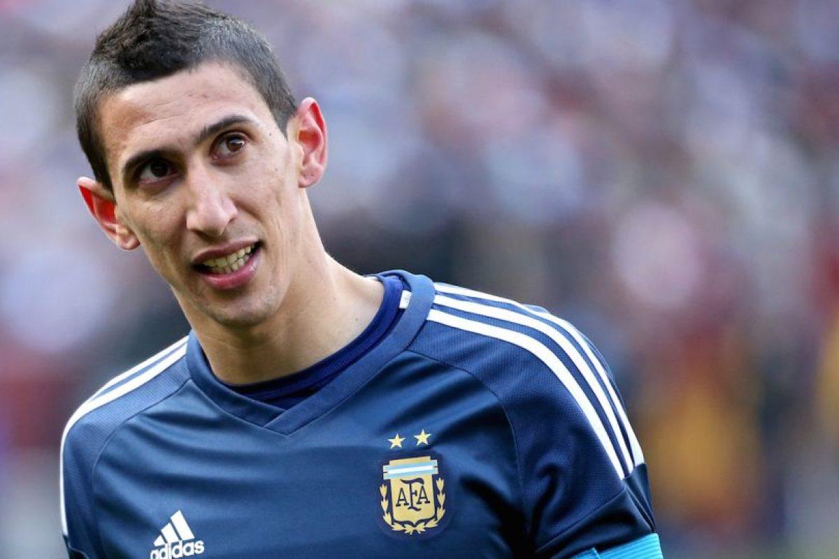 14. Ángel Di María Foto:Getty Images. Imagen Por: