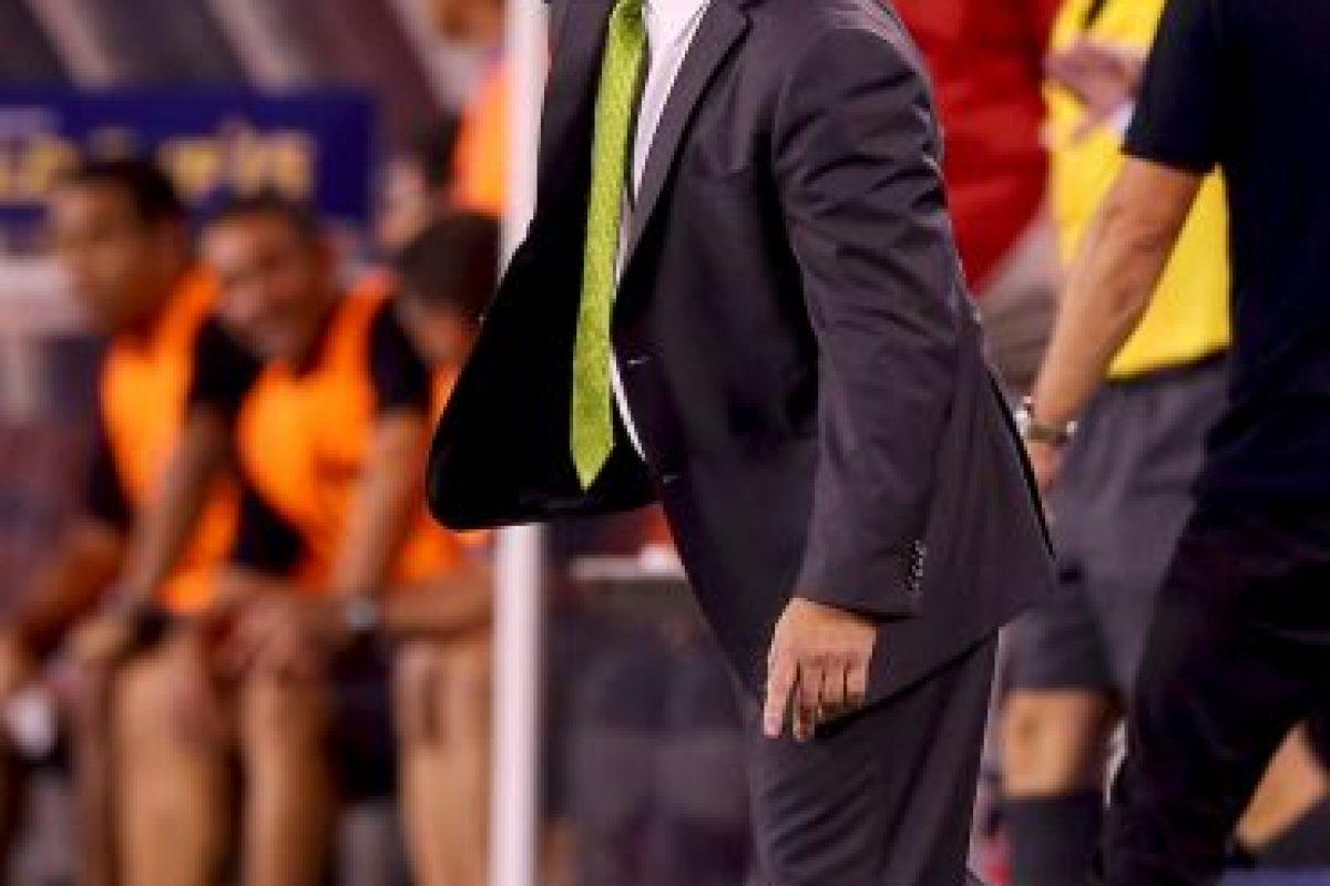 Herrera insultó a Martinoli y le pidió que le dijera lo que quisiera en la cara Foto:Getty Images. Imagen Por: