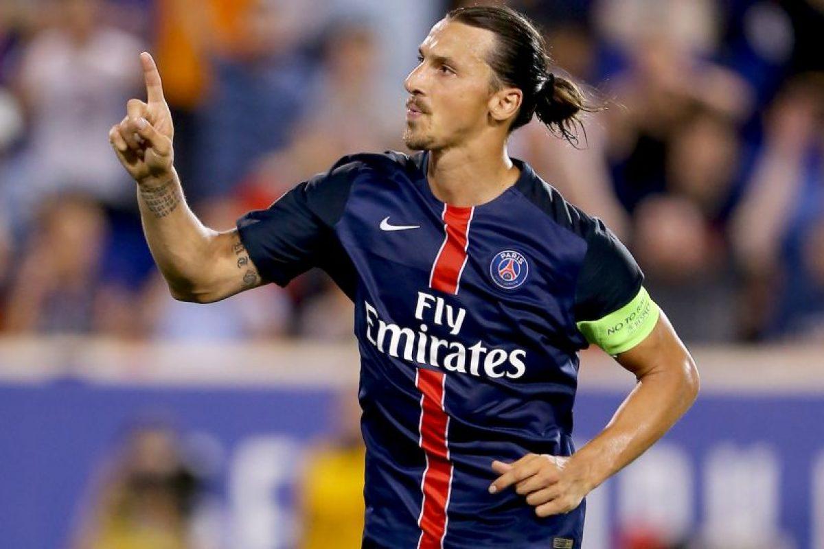 3. Zlatan Ibrahimovic Foto:Getty Images. Imagen Por: